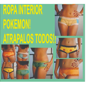 3 Ropa Interior , Panties De Pokemon, Snorlax Charmander