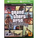 Grand Theft Auto San Andreas Xbox 360