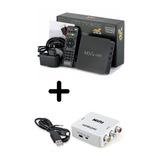 Convertidor Smart Tv Box 4k Full Hd+conversor Hdmi A Rca