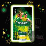 Tinta Facial Cremosa 2 Cores Verde E Amarelo Kit 5 Unidades