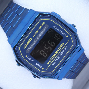 bfa71753ff0 Reloj Casio Vintage Azul - Relojes en Mercado Libre México