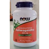 Ashwagandha 180 Caps 450 Mg Now Original Eua - Frete Grátis