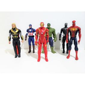 Boneco Marvel Vingadores The Avengers Dc 30 Cm Som Luz Cada