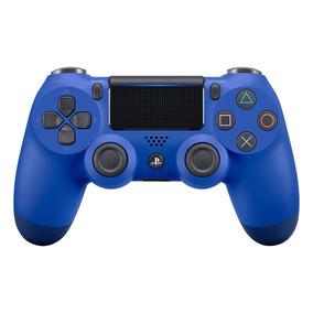 Controle Ps4 Azul Sem Fio Led Dualshock 4 Sony Playstation 4