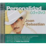 Joan Sebastian - Personalidad Cd+dvd Disponible !
