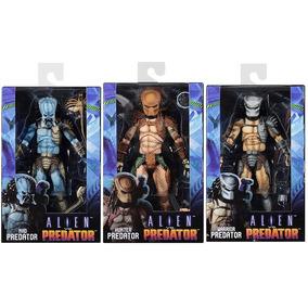 Pack 3 Predadores- Versão Arcade- Neca- Novos- Lacrados