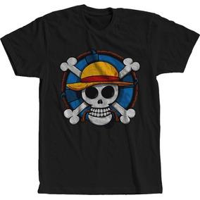 Camisas Caveira Pirata - Camisetas e Blusas no Mercado Livre Brasil a9502cda5af