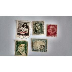 Selo Alemanha - Anne Frank - Selos Raros Guerra 1945