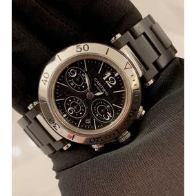 01880fd4507 Relogio Cartier Roadster Chronograph - Relógios no Mercado Livre Brasil