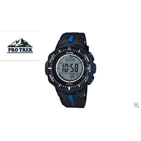 267da64850a Relogio Casio Com Barometro Altimetro Profundidade - Relógios De ...