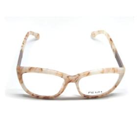 16e837c3be9cd Armação Ana Hickmann Ah1145 Marfim - Óculos no Mercado Livre Brasil