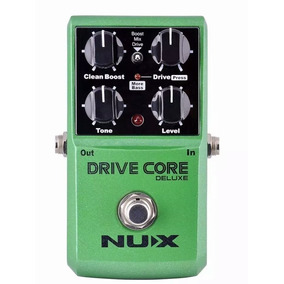 Pedal Nux Drive Core Overdrive Series Booster