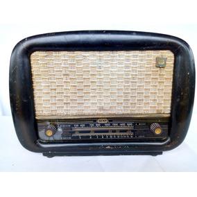 Rádio Antigo Semp Madeira Não Funciona Lindo