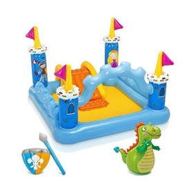Juegos Inflables Play Center Inflable Castillo Intex