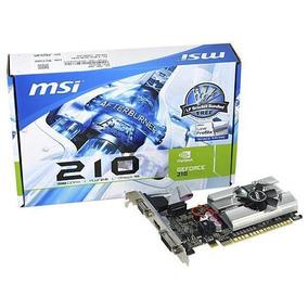 Placa De Video Geforce 1gb Gt210 Ddr3 64bits Msi