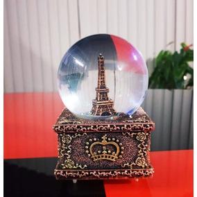 Bola Musical Nieve Torre Eiffel 14 Febrero San Valentin cb3e3cf7d1099