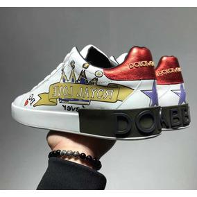 Tenis Dolce & Gabbana Corona Royal Love