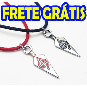 Par Colar Naruto Kunai - 2 Colares Best Friends Anime