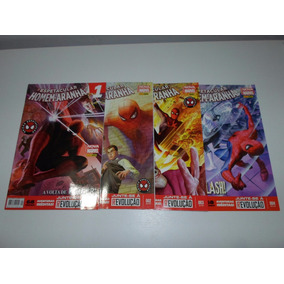 O Espetacular Homem Aranha N° 1 2 3 E 4 Nova Marvel Panini