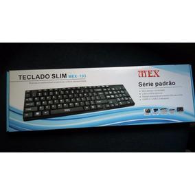 Teclado Usb Slim Mex-103