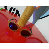 Óculos Djp Unissex Com Armação De Madeira (quase S uso) 278c6e8b30