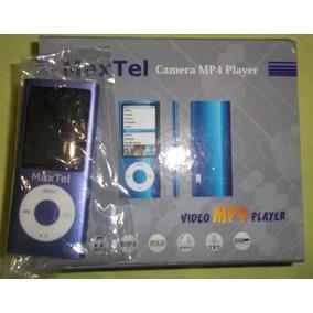 Reproductor Mp4 Con Radio, Camara Y 4gb De Memoria