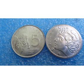 Moeda 5 Centavos F A O 1975 Ou 1976 Ou 1977 Ou 1978
