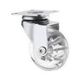 Rodizio Gel Giratória Silicone 50mm (20 Unidades Sem Freio)