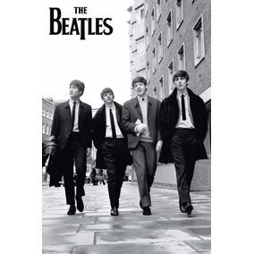 Poster The Beatles 51x36 Kraft Frete Fixo R$ 8,00