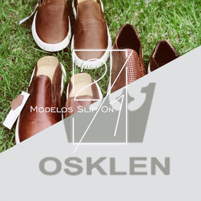 Tenis Masculino Sapatenis Osklen Bossanova Slip On Couro