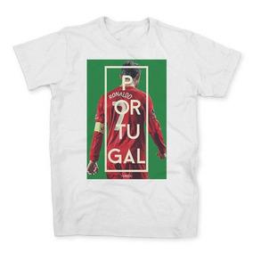 Camiseta Camisa Portugal Cristiano Ronaldo Cr7 Futebol Messi f4573c69bbd09