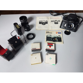 Câmera Fotográfica Pentax Sp1000 Com Acessórios