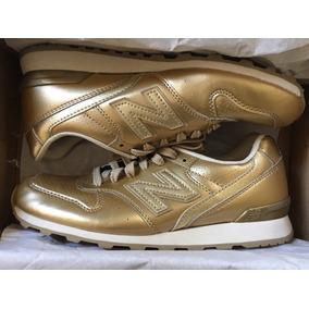 zapatillas mujer new balance doradas