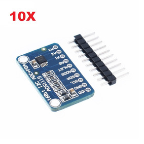 10 Modulo Conversor Analógico Digital Ads1115 Adc Arduino