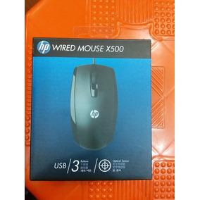 Mouse Laser Hp X500. Ventas Al Mayor Y Al Detal