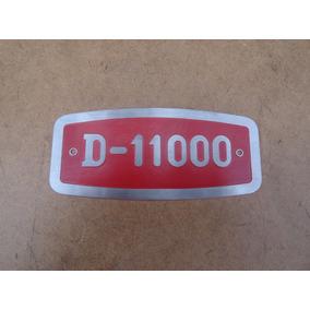 Emblema Frontal Grade D-11000 Caminhão Fnm Alfa Romeo Novo