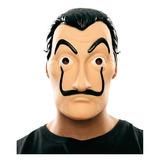 Máscara De Dali La Casa De Papel De Plástico