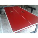 Mesa De Ping Pong Média Flamengo