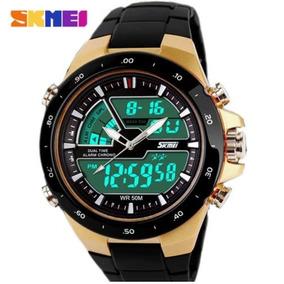 Relógio Masculino Esportivo Digital Dourado - Prova D