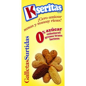 Galletas Surtidas Sin Azúcar. Kseritas (24 Unidades)