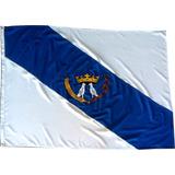 Bandeira Oficial Bordada Ponta Grossa Parana 1,30 X 90 Mt