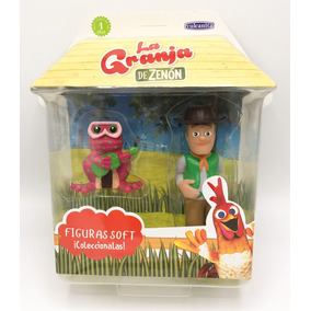 Muñeco Coleccionable De La Granja De Zenón - Zenón + Rana