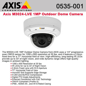 AXIS M3024-LVE Network Camera Drivers Mac