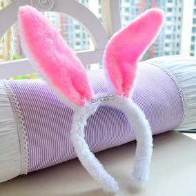 10 Diademas De Conejo Bunny Luminosa Led Luz Playboy Disfraz