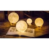 Lámpara Luna 3d Varios Tamaños Disponibles Consultar