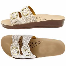 08c8cda2a2642 Sandalias Para Esporão De Calcaneo Azaleia Chinelos - Sapatos Branco ...