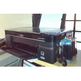 Epson Tx 130 Con Sistema De Tinta Continúa