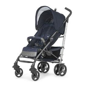 Carrinho De Bebê Lite Way Top 2 Denim Jeans/azul - Chicco