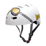 Capacete Infantilkraft Bike Aviador Branco Skate Nbr16175 fc1e23a1093