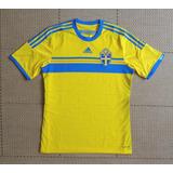 Camisa Suecia 2014 - Futebol no Mercado Livre Brasil 230375b5ba033